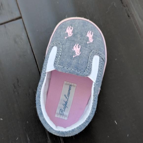 455562f03c Ralph Lauren Baby Girl Shoes